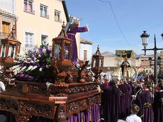 calvario viernes santo yecla