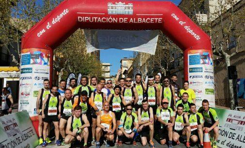 Los fondistas participan en la popular de Montealegre