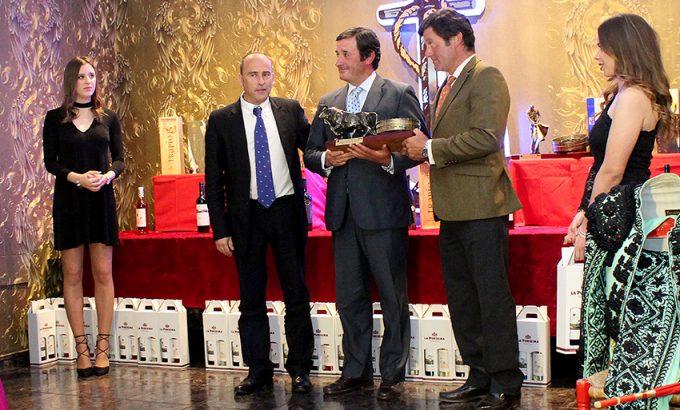La ganadería familiar sevillana recibió el premio.
