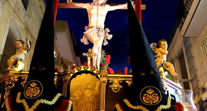Dolor en la despedida de Cristo