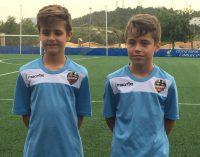 El Levante llama a dos benjamines del Fútbol Base Yecla