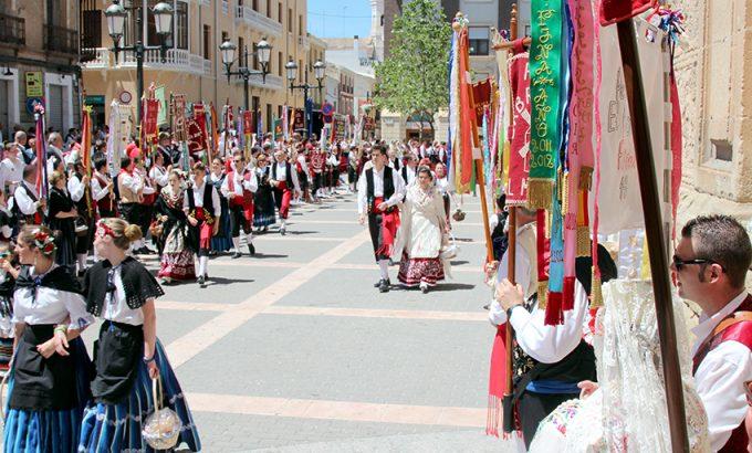 En el átrio de la Purísima comenzó y terminó la procesión.