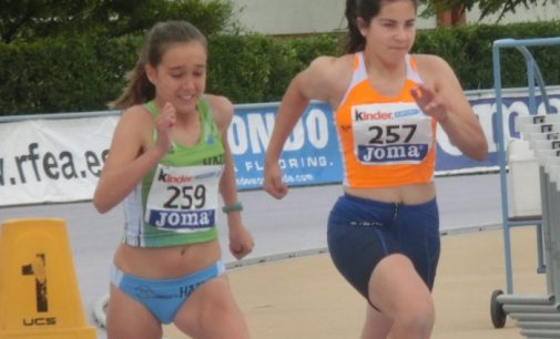 Ángela Andrés, 13ª en el Campeonato de España Infantil