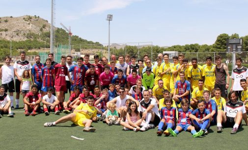 Fiesta por todo lo alto del fútbol inclusivo