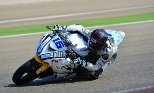 La mala suerte se ceba con Julio David Palao en Motorland
