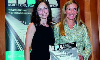 Carolina Santiago gana la Yamaha Scholarship de piano