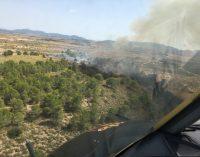 Controlado un incendio en la sierra de El Carche