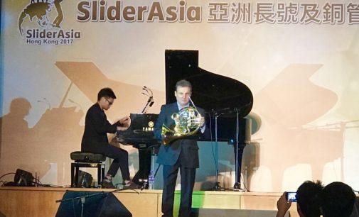 Paco Rodríguez participa en el Slider Asia Brass Festival de Hong Kong