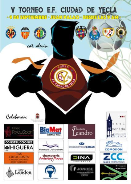 V TORNEO EFCYECLA4 torneo fútbol base