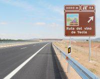 Con autovía, lanzamos #EsFacilLlegar #RutaVinoYecla