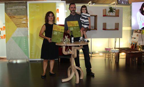 Una mesa de catas de vino gana el concurso de diseño de CETEM
