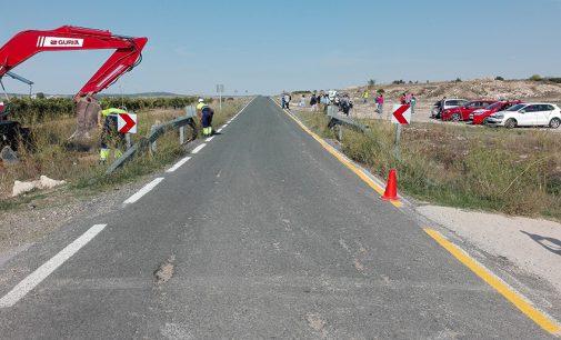 Empieza la segunda fase de las obras en la carretera de Fuente Álamo