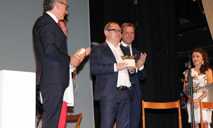 Francisco Ortuño recibió la distinción de Enoturista del año.