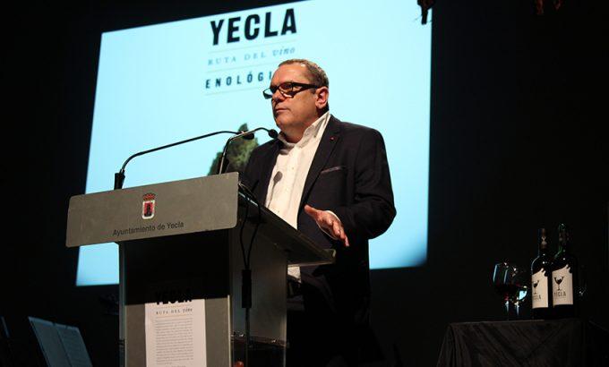 Francisco Ortuño durante su intervención.