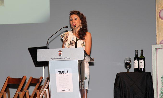 La periodista yeclana, Noemí Martínez.