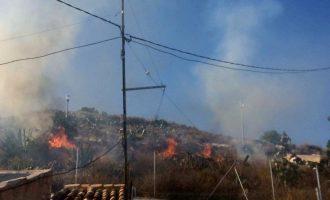 Se declaran tres incendios en distintos puntos en apenas dos horas
