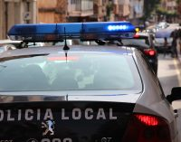 Un conductor es detenido ebrio y en calzoncillos