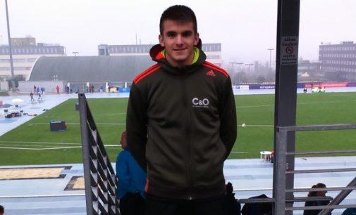 Alejandro Ortuño debuta en Europa con un cuarto puesto