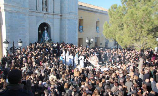 La imagen de la Virgen se verá este sábado en una misa extraordinaria en el santuario
