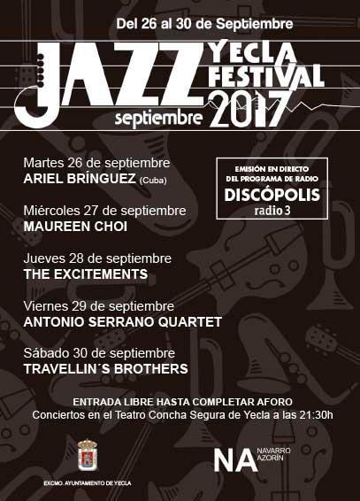 discópolis en el festival de jazz