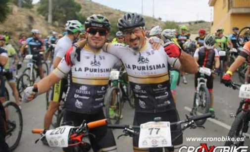 Buen papel de los ciclistas en Aspe y Busot