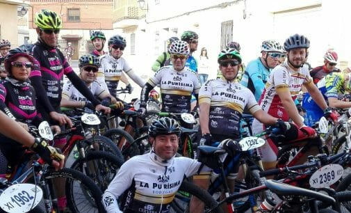 Los ciclistas compiten en la Sierra de Segura