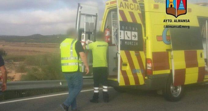 El ciclista accidentado permanece en la UCI del hospital de Albacete