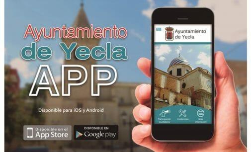 El Ayuntamiento de Yecla lanza la APP municipal