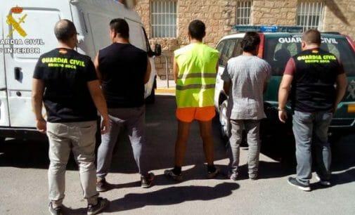 Tres detenidos por robos de material de obra