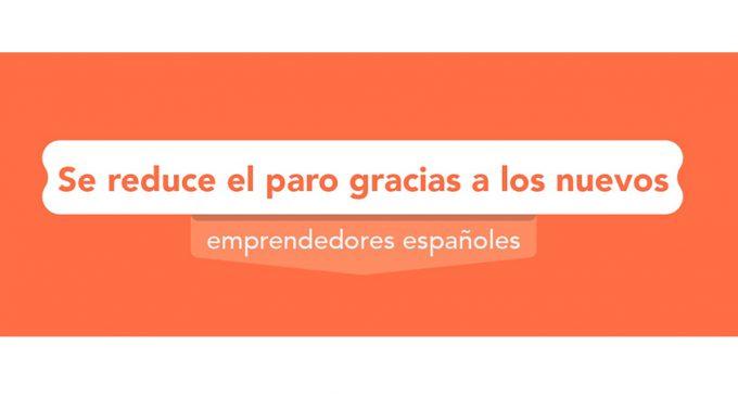 Se reduce el paro gracias a los nuevos emprendedores españoles
