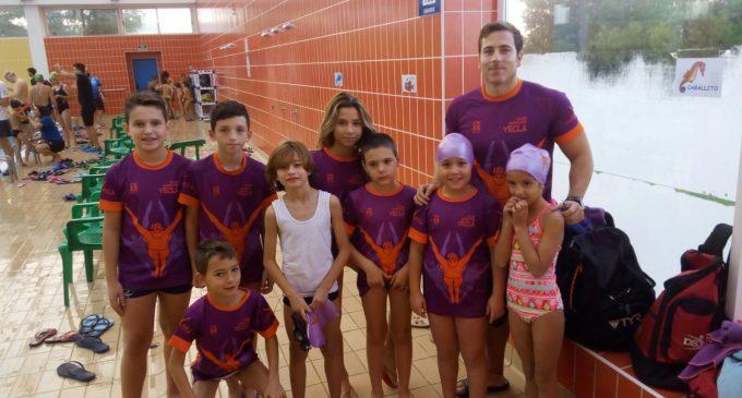 Comienza la liga para los peques nadadores yeclanos