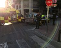 Un hombre de 90 años es atropellado en la calle Cura Ibáñez