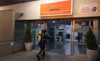 Un sistema eléctrico causa un incendio en el interior del hospital