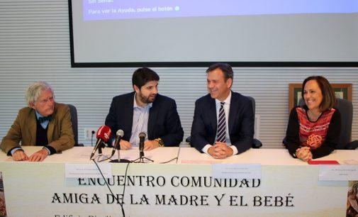 """López Miras: """"Un día mis hijos nacerán en el hospital de Yecla"""""""