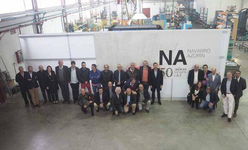 La empresa Navarro Azorín cumple 50 años