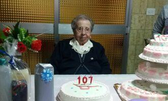 Obdulia suma y sigue: cumple 107 años