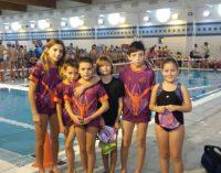 Buen papel de los nadadores en la segunda jornada de liga regional