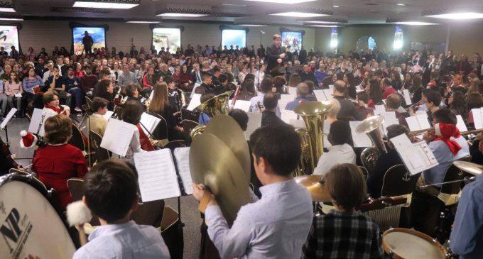 La Escuela de Música celebra la Navidad con un gran concierto