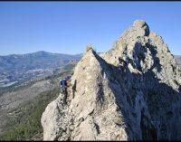 Los montañeros van a la Cresta de Bernia