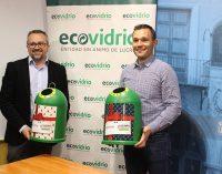 El reciclaje del vidrio en Navidad para ayudar Save the children