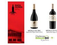Barahonda consigue dos medallas en la mayor feria mundial del vino ecológico