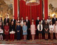 Una yeclana en la entrega del Toisón de Oro a la Princesa de Asturias