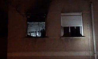 Una persona resulta herida por intoxicación a causa de un incendio en su vivienda