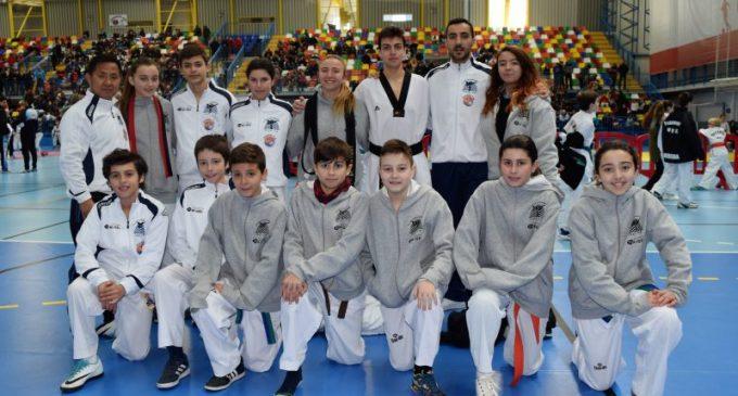 El club Taekwondo Yecla consigue 17 podios en Guadalajara