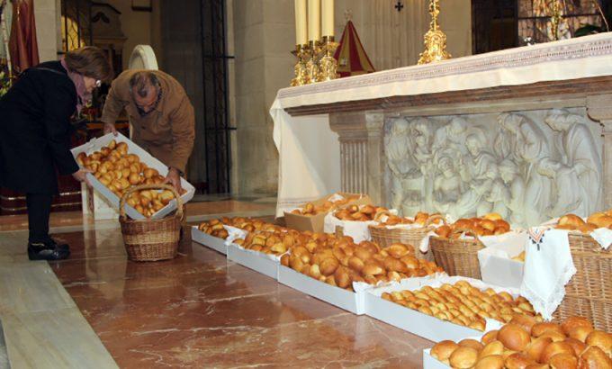 Los panes de San Blas, buenos para la garganta.